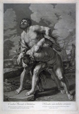 Combat of Hercules and Achelous