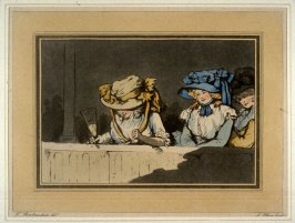 Plate 3 from the series Opera Boxes