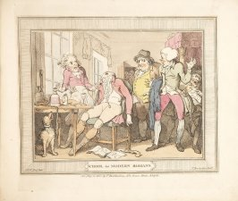 School for Modern Romans, plate 8 in A Compendious Treatise of Modern Education (London: Smeeton, 1802)