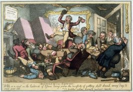 Miseries of the Country, illustration to 'The Miseries of Human Life' (London, Ackermann, 1808)