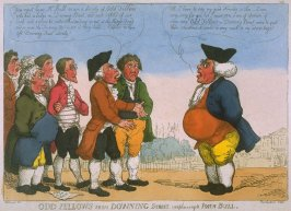 Odd Fellows from Downing Street Complaining to John Bull