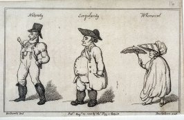 Notoriety, Singularity, Whimsical; illustration to 'Chesterfield Travestie or School for Fine Manners' (Tegg, 1808)