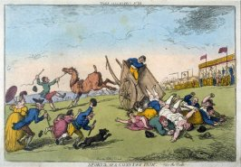 Sports of a Country Fair--Part the First, from the series 'Tegg's Caricatures' no.38