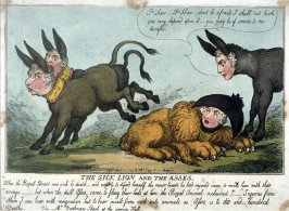 The Sick Lion and the Asses