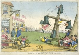 Sports of a Country Fair--Part the Second, from the series 'Tegg's Caricatures' No.39