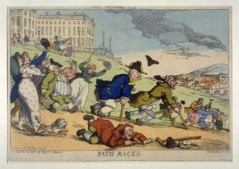 Bath Races, from the series 'Tegg's Caricatures' No.49