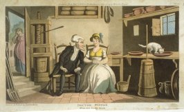 Dr. Syntax With the Dairy Maid, from Combe's 'The Tour of Dr Syntax in Search of the Picturesque'