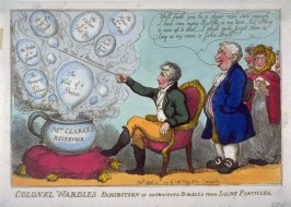 Colonel Wardle's Exhibition of extracting bubbles from Saline Particles