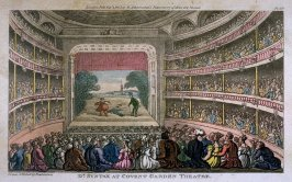 Dr. Syntax At Covent Garden Theatre, illustration to Combe's 'The Tour of Dr Syntax'