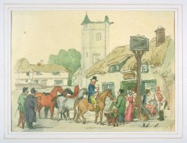 The Ale House Door, illustration to 'The World in Miniature'