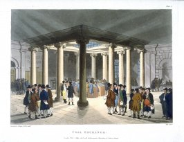 Plate 17: Coal Exchange, illustration to 'The Microcosm of London'