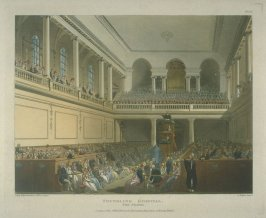 Plate 37: Foundling Hospital, the Chapel, illustration to 'The Microcosm of London'