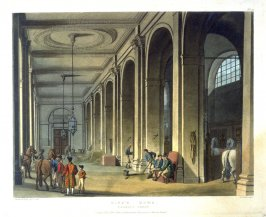 Plate 47: King's Mews, Charing Cross, illustration to 'The Microcosm of London'