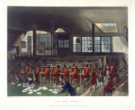 Plate 63: The Post Office, illustration to 'The Microcosm of London'