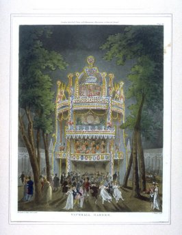 Plate 88: Vauxhall Gardens, illustration to 'The Microcosm of London'