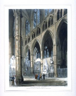 Plate 93: Westminster Abbey, illustration to 'The Microcosm of London'
