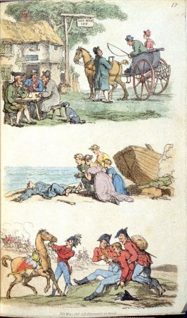 Untitled, plate 12 in the book, Rowlandson's world in miniature (London: R. Ackermann, 1816)