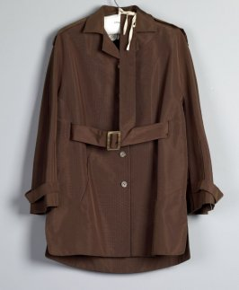 Woman's safari jacket with belt