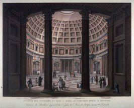 Interno del Pantheon In Oggi S. Maria ad...