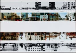 6800 - Highland Avenue, from the portfolio THEN & NOW: Ed Ruscha / Hollywood Boulevard / 1973-2004