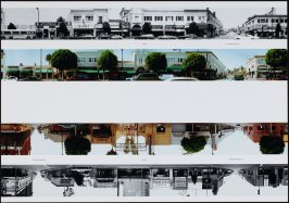 6700 - Las Palmas Avenue, from the portfolio THEN & NOW: Ed Ruscha / Hollywood Boulevard / 1973-2004