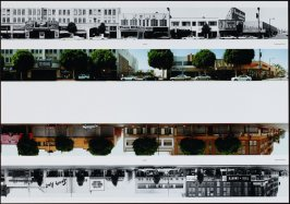 6400 - Cahenga Blvd., from the portfolio THEN & NOW: Ed Ruscha / Hollywood Boulevard / 1973-2004