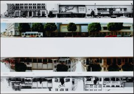 Cahenga Blvd. - 6300, from the portfolio THEN & NOW: Ed Ruscha / Hollywood Boulevard / 1973-2004