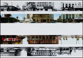 Vine Street - 6200, from the portfolio THEN & NOW: Ed Ruscha / Hollywood Boulevard / 1973-2004