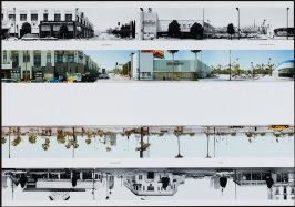 Argyle Avenue - Vista del Mar Avenue, from the portfolio THEN & NOW: Ed Ruscha / Hollywood Boulevard / 1973-2004