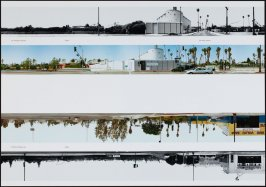 101 Freeway Overpass - 5800 - Van Ness Avenue, from the portfolio THEN & NOW: Ed Ruscha / Hollywood Boulevard / 1973-2004