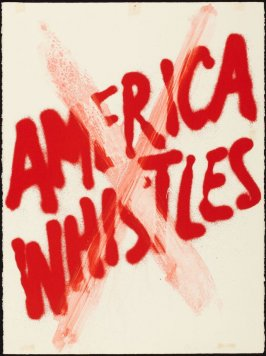 Cancellation Proof for America Whistles from the portfolio America: The Third Century