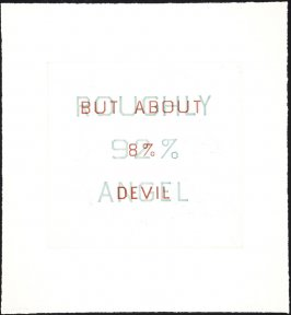 Trial Proof for Roughly 92% Angel, But about 8% Devil
