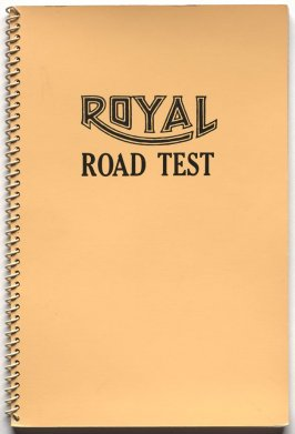 Royal Road Test by Edward Ruscha in collaboration with Mason Williams and Patrick Blackwell (Los Angeles: self published, 1967[third ed. 1971])