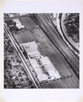 Fashion Square, Sherman Oaks, from the Parking Lots series