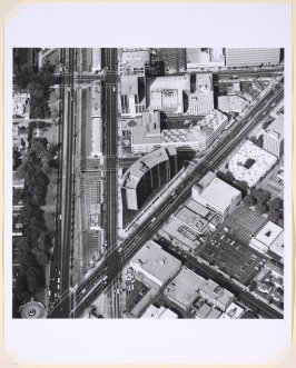 Intersections of Wilshire Blvd. and Santa Monica Blvds., from the Parking Lots series