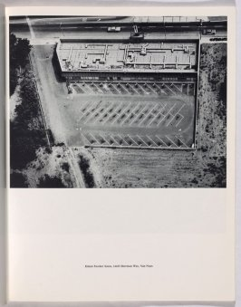"""Eileen Feather Salon, 14425 Sherman Way, Van Nuys,"" in the book Thirtyfour Parking Lots in Los Angeles by Edward Ruscha (Los Angeles: self published, 1967)"