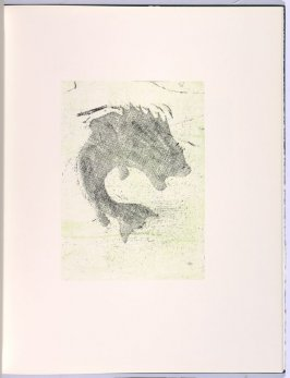 Flipping, in the book Flipping, Kicking, Howling, Rolling, Sitting, Standing, Climbing, Telling by Ed Ruscha (Los Angeles: Sam Francis / The Lapis Press, 1988)