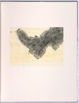 Kicking, in the book Flipping, Kicking, Howling, Rolling, Sitting, Standing, Climbing, Telling by Ed Ruscha (Los Angeles: Sam Francis / The Lapis Press, 1988)