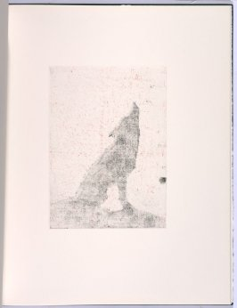Howling, in the book Flipping, Kicking, Howling, Rolling, Sitting, Standing, Climbing, Telling by Ed Ruscha (Los Angeles: Sam Francis / The Lapis Press, 1988)