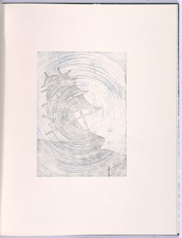 Rolling, in the book Flipping, Kicking, Howling, Rolling, Sitting, Standing, Climbing, Telling by Ed Ruscha (Los Angeles: Sam Francis / The Lapis Press, 1988)