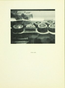 Untitled, illustration 15, in the book Babycakes with Weights (New York: Multiples, Inc., 1970)