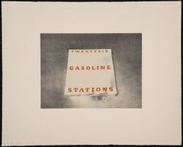 Twentysix Gasoline Stations, from the Book Covers series
