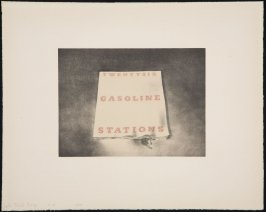 Color Trial Proof for Twentysix Gasoline Stations from the Book Covers series