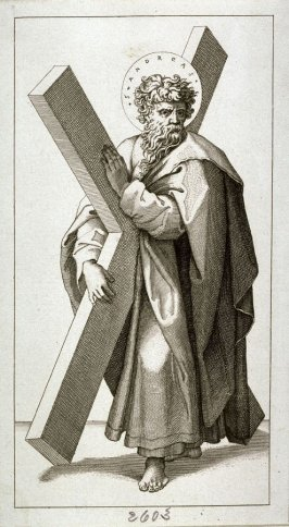 Christ and the Twelve Apostles [St. Andrew]
