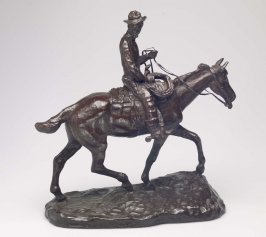 Will Rogers on Horseback