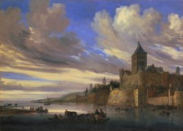 River View of Nijmegen with the Valkhof