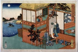 Scene from act 7 from the series Kanadehon Chuushingura