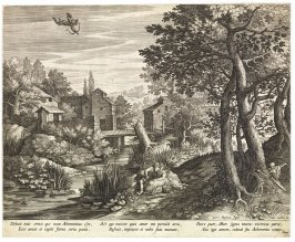 Landscape with a Couple Threatened by Death and Cupid