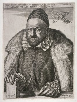 Portrait of Sgismond Feyrabend, Publisher in Frankfurt-am-Main