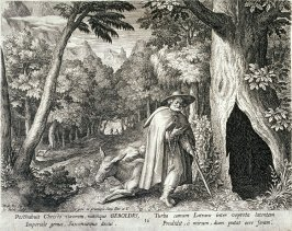 Saint Geroldus, no. 16 from Trophaeum Vitae Solitariae (Lives of the Hermits)